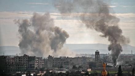 Al menos 35 civiles muertos por bombardeos del régimen sirio contra Guta Oriental