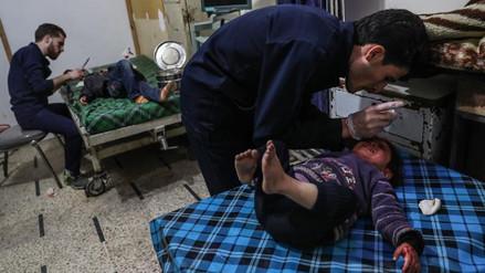 Unicef: Más de mil niños han muerto en Siria en 2018 a causa del conflicto