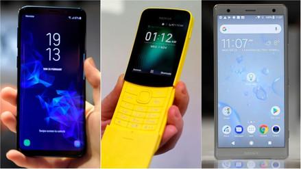Fotos | Estos fueron los smartphones presentados en el Mobile World Congress