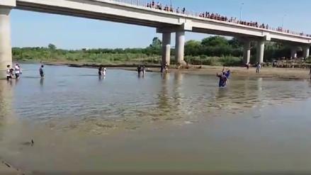 Agricultores del Valle de San Lorenzo protestan por alza en tarifa de agua
