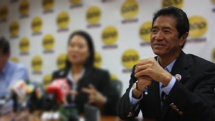 Jaime Yoshiyama solicitó fecha y hora para rendir sus declaraciones ante fiscal Domingo Pérez