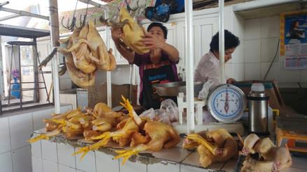 En 60 % bajó venta de pollo en mercados de Chiclayo
