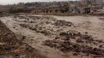 Huaicos y deslizamientos dejaron aisladas localidades del Vraem