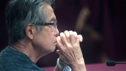 Alberto Fujimori fue dado de alta y pidió