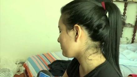 Mujer ecuatoriana quedó desfigurada tras ser agredida en discoteca de Chimbote