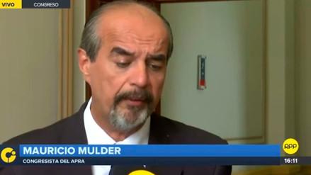 Mulder: El Gobierno debería pedirle a Susana de la Puente que deje el cargo de embajadora