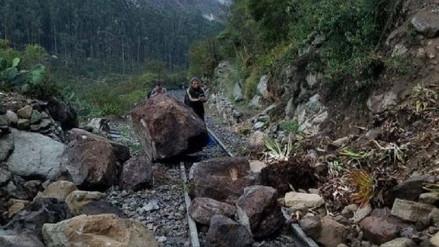 Deslizamiento por lluvias interrumpió viajes en tren a Machu Picchu