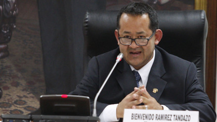 Bienvenido Ramírez arremete contra los congresistas Salgado y Becerril
