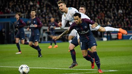 Cristiano Ronaldo fue provocado por Dani Alves todo el partido ante PSG