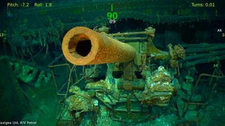 El portaaviones USS Lexington de la Segunda Guerra Mundial fue encontrado en Australia