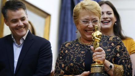 Michelle Bachelet recibió al equipo de