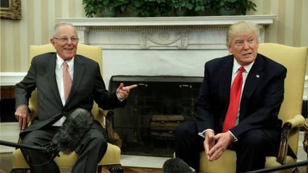 Donald Trump habló con PPK sobre Venezuela y la Cumbre de las Américas