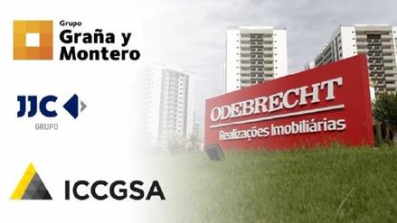 Graña y Montero, JJ Camet e ICCGSA serán investigadas por caso Interoceánica