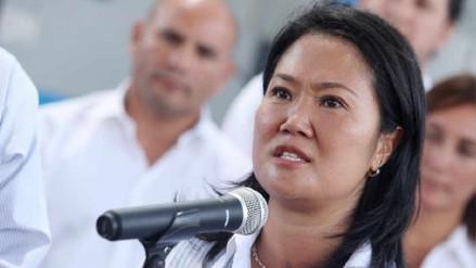 Keiko Fujimori calificó como un abuso detención de Jaime Yoshiyama