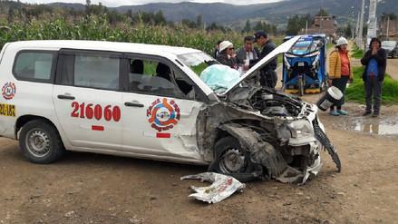 Choque entre auto y camión dejó un muerto en Huancayo