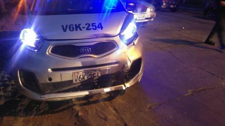 Catorce personas heridas dejó choque múltiple de vehículos en Arequipa