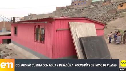 Más de 200 niños de San Juan de Lurigancho estudian en aulas prefabricadas desde el 2010
