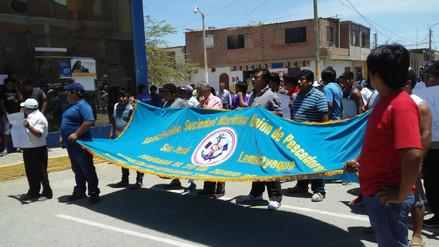Pescadores de San José exigen precios justos en la extracción de pota