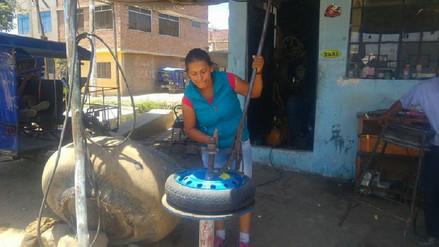 Conozca a Roxana, un símbolo de la joven mujer trabajadora en Chiclayo