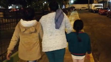 Madre llegó de Ucayali a Arequipa exigiendo justicia por violación de sus hijas