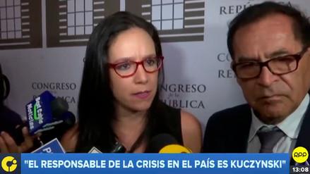 """Marisa Glave: """"Si Vizcarra respeta la democracia y la Constitución, no debería renunciar"""""""