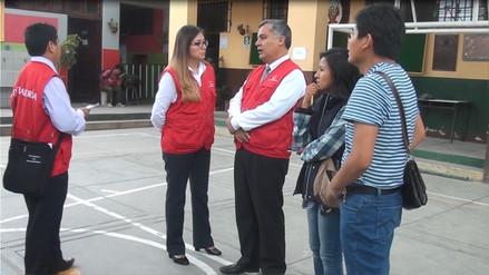 Detectan que colegio no cuenta con servicio de energía en Cerro Colorado