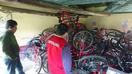 """Bicicletas del Programa """"Rutas Solidarias"""" de la zona andina corren el riesgo de malograrse"""