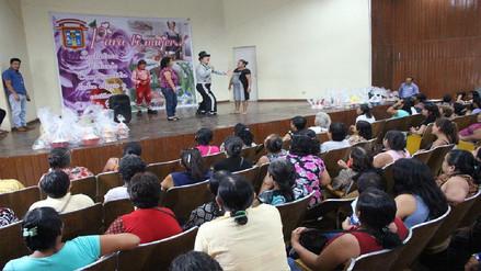 Rinden homenaje a mujeres de los comedores populares de Chiclayo