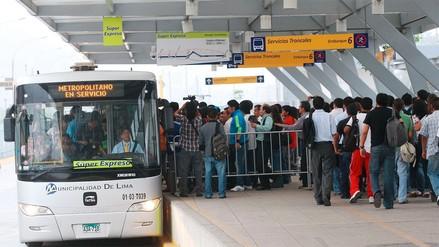 Choferes de dos empresas consorciadas del Metropolitano amenazan con huelga general el 19 de marzo