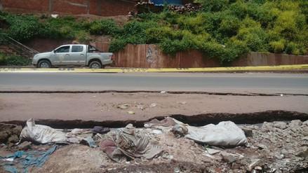 Vía Cusco - Lima presenta agrietamientos que ponen en riesgo a viajeros