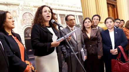 """Chacón: """"Se ha decidido apoyar la moción de vacancia y esperar a que PPK declare ante Lava Jato"""""""
