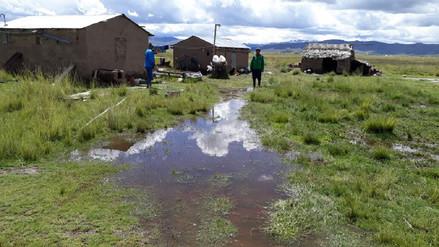 Lluvias generan inundación de viviendas y cultivos en Melgar