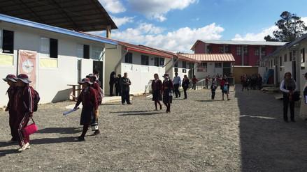 La Dirección Regional de Educación reportó 60 colegios en riesgo de colapsar
