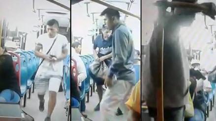 Capturan a uno de los delincuentes del asalto en bus de Trujillo