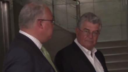 Ricardo Briceño se presentó ante la Fiscalía de Lavado de Activos