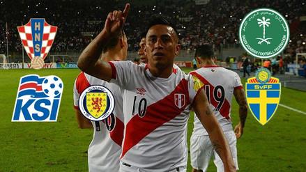Los amistosos que jugará la Selección Peruana en el 2018