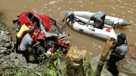 Hallan cadáver de uno de los profesores desaparecidos en río Tulumayo
