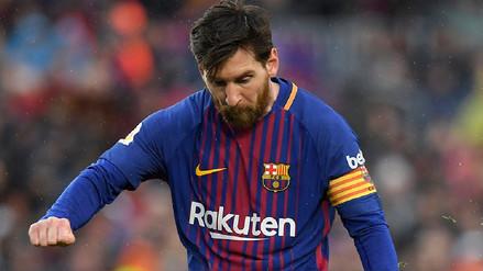 Lionel Messi fue dejado fuera de la lista ante Málaga por este motivo