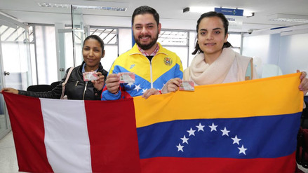 Migraciones estimó en más de 115.000 el número de venezolanos en el Perú