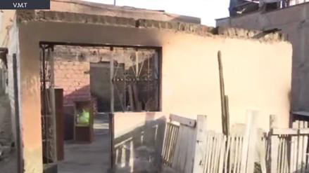 Una familia pide carpas y útiles escolares tras perderlo todo en un incendio