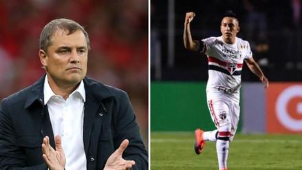 Diego Aguirre será el nuevo entrenador de Christian Cueva en el Sao Paulo