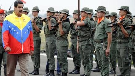 Encarcelan a nueve militares venezolanos acusados de rebelión