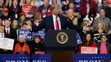 Trump aseguró que presidente mexicano le pidió no pagar por el muro fronterizo