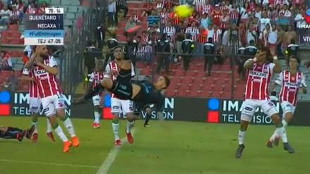 ¡Candidato al Puskas! El golazo de chalaca que se marcó en la Liga MX