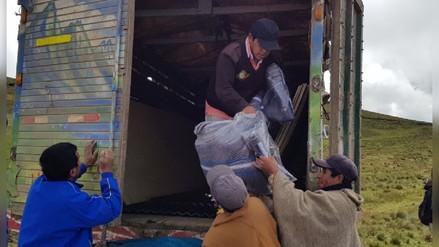 Ayudan a damnificados por huaico en dos caseríos de Otuzco