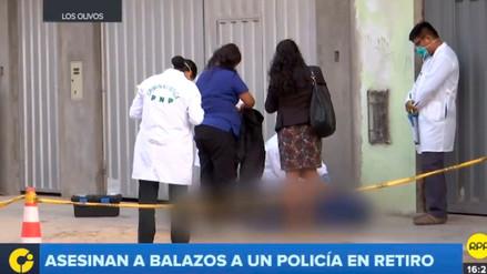 Un policía en retiro fue asesinado en Los Olivos