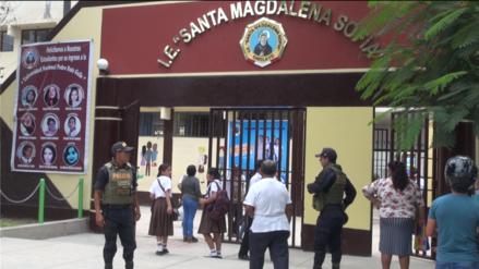 Policía puso en marcha Plan de Seguridad en colegios estatales