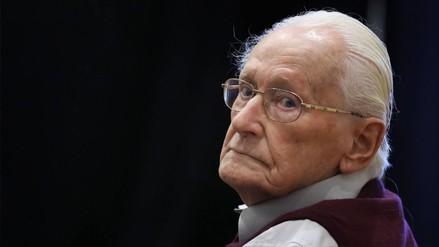 Murió el 'contador de Auschwitz', con 96 años y condenado por crímenes nazis