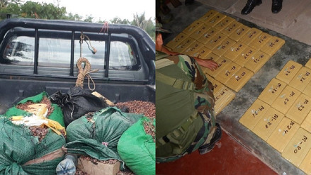Satipo: Policía incautó más de 65 kilogramos de cocaína