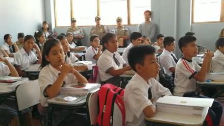 Más de 400 mil alumnos iniciaron clases escolares en Piura
